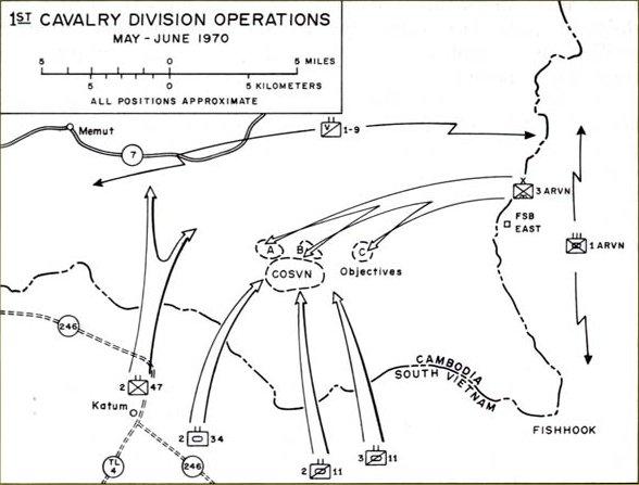 Center for Military Historys Breakdown of Cambodiareasons bases – Map Us Bases Vietnam 1970
